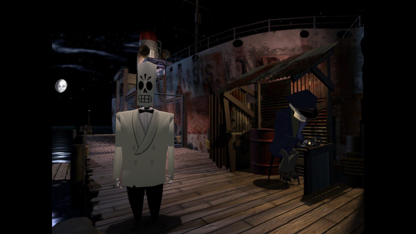grim fandango, remastered, velasco
