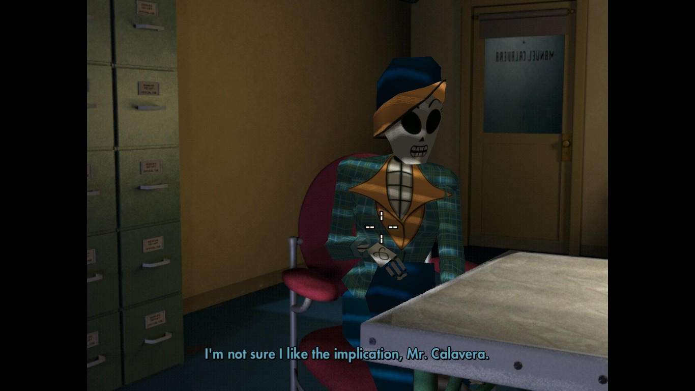 grim fandango, remastered, mercedes colomar, meche