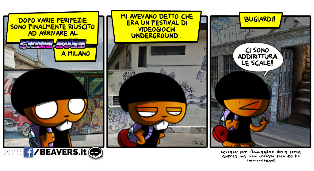game_over_milano_festival_underground_comic_beavers