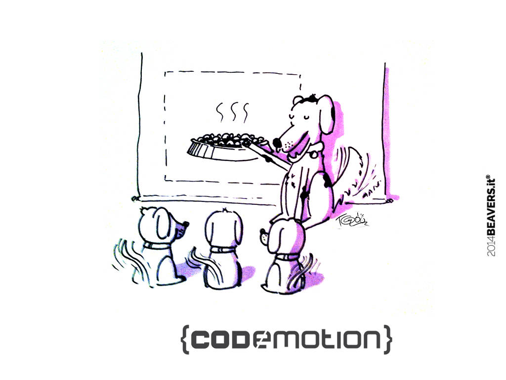 Codemotion 2014 [update]